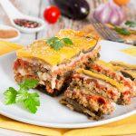 Musaka: Melanzani-Kartoffel-Lasagne